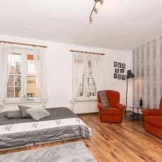 Apartament Grace Kelly - salon/sypialnia