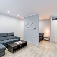 Apartament White Studio - salon/sypialnia