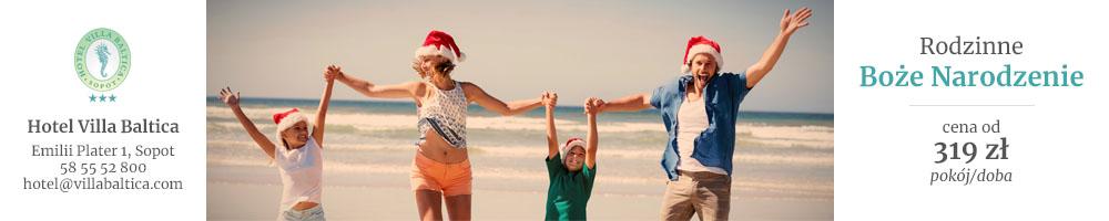 Boże Narodzenie w Villli Baltica
